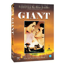 Giant (1956) DVD - Elizabeth Taylor, James Dean (*New *Sealed *All Region)