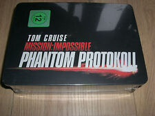 Mission Impossible Phantom Protokoll Metall-Box Tin Steelbook m. Zippo, T-Shirt