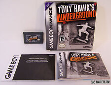 Tony Hawk's Underground (Game Boy Advance) COMPLETE IN BOX!!!