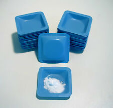 """BLUE WEIGH BOATS SMALL 1.8 X 1.8"""" (COUNT 100) BOAT DISH"""