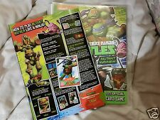 Teenage Mutant Ninja Turtles Mutant Mayhem Trading Cards álbum & Cartas Completo