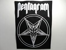 PENTAGRAM    EMBROIDERED BACK PATCH