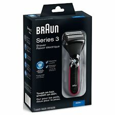 Braun Series 3 320s-4 320-4 Electric Rechargeable Cordless Male Mens Foil Shaver