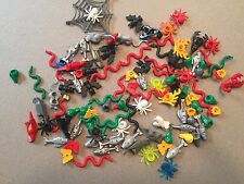 HUGE LOT OF 100 LEGO ANIMALS Frogs Fish SCORPIONS MINFIG W362