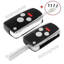 Remote Modified Folding Key Flip Shell Case For Honda Accord Civic 4 Buttons