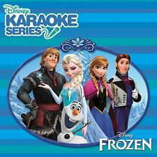 DISNEY FROZEN DISNEY KARAOKE SERIES CD ALBUM ( 2014)** free UK p+p**
