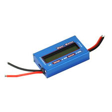 100A 60V DC RC Helicopter Airplane Battery Power Analyzer Watt Meter Balancer PF