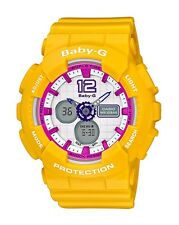 Casio Baby-G * BA120-9B Sporty Color Yellow Anadigi MOM17 COD PayPal