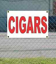 2x3 CIGARS Red & White Banner Sign NEW Discount Size & Price FREE SHIP