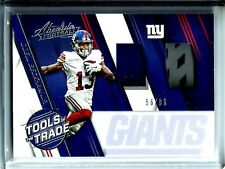 2016 Absolute Tools of The Trade Odell Beckham Jr. Glove Patch D # 56/99 N.Y.G.