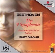 Beethoven: The 9 Symphonies [Hybrid SACD], New Music