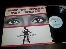 "Napoleon Solo ""How To Steal The World"" 12""ep Unicorn Records ‎PHZA-29 uk 1988"