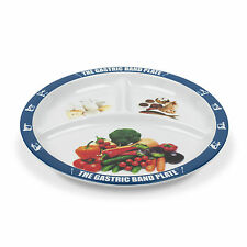 2 PACK World Slimming Gastric Band Plate Dieting Plate Divided Portion Control