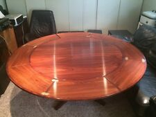The Lotus Flip Flap Modern Danish Expanding Rosewood Dining Table by Dyrlund