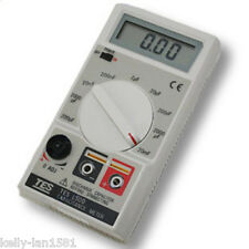 1pcs NEW TES1500 Capacitance Tester Meter up to 20mF 20000uF