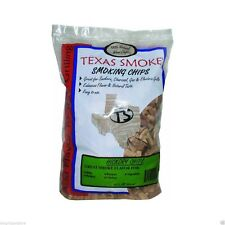 Texas Smoke Wood Hickory Grilling Chips for Gas or Charcoal 192 Cu Inch Bag New