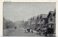 P.C Animated Town Street Duffield Derby Derbyshire Good Condition