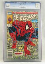 SPIDERMAN #1 McFarlane CGC 9.2 Near Mint WHITE Pages Key Issue Marvel Comics