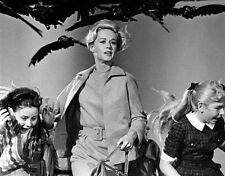 POSTER ALFRED HITCHCOCK UCCELLI THE BIRDS TIPPI HEDREN LOCANDINA FOTO MYSTERY #3