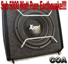 SUBWOOFER AUTO ATTIVO DA 30 CM 5000 WATT DOPPIO MAGNETE 120 ONCE+CONTR. REM.!!!