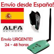 Adaptador wifi Alfa AWUS036NH de 2000mW + antena de 5dBi URGENTE DESDE ESPAÑA