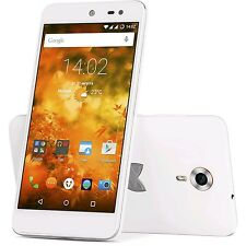 BRAND NEW WILEYFOX SWIFT SMARTPHONE White 5 Inch 16GB 4G Unlocked & SIM Free