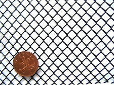 "5.2m x 16cm BLACK SEMI-RIGID STRONG HDPE ¼"" MESH SCREEN SIEVE FISH FILTER NET"
