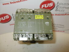 PILZ PST3 24VDC 3S Safety Relay - Removed From A Working Machine