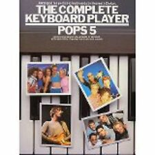 The Complete Keyboard Player Pops 5 Sheet Music Book Nineties Songs Baker S62
