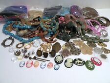 GRAB BAG! Huge Bead and Jewelry Making Supply Lot Gemstone Glass Findings More!