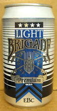 BRIGADE LIGHT BEER Can Evansville Brewing Co. INDIANA, Swords & Grains, 1+