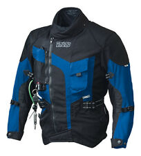 IXS Motorcycle Jacket Textile Stunt Airbag Size S up to XXL waterproof Membrane