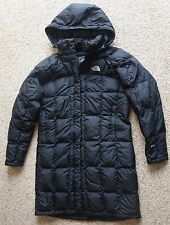 The North Face Metropolis Black Quilted Down Parka w/ Hood. 600 Fill. Women's L