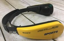 Sony SRF-M50 Sports Headset 5-Memory Preset FM Radio Tuner Walkman Headphones
