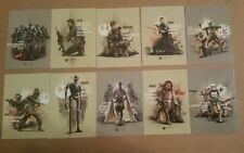 2017 Topps Star Wars Rogue one Series 2 Prime Forces 10 Card Set PF-1 PF-10
