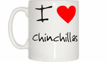 I Love Heart Chinchillas Mug
