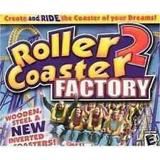 ROLLER COASTER FACTORY 2 NEW & FACTORY SEALED PC/MAC