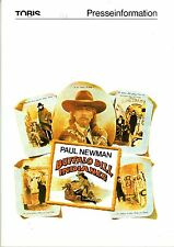 Buffalo Bill und die Indianer Presseheft press book Paul Newman, Burt Lancaster