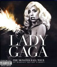 Lady Gaga: The Monster Ball Tour at (2012, Blu-ray NEW) BLU-RAY/Explicit Version