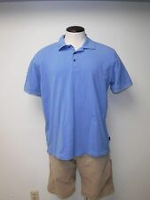 (M511) Men's BOSS HUGO BOSS Sz XXL Blue Mesh Short Sleeved Polo Shirt