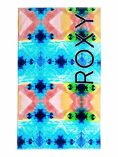 ROXY WOMENS TOWEL.NEW HAZY BLUE LARGE COTTON SUMMER BEACH HOLIDAY 7S/3219/WBT8