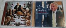 LOT Christmas Music CD TONY BENNETT The Count SWINGIN' BASIE BIG BAND & HALLMARK
