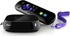 BRAND NEW Roku 3 Streaming Player HD Streaming Faster Processor HDMI NEW SEALED