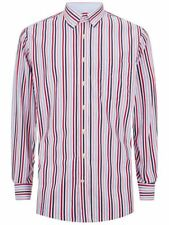 Hackett London Multicolor Tri Bar Stripe de Superdry de manga larga, Talla M Rrp £ 95.00