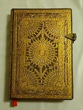 "Paperblanks Journal Baroque Ventaglio ""Marrone"" LINED Mini 3¾x5½"" Book Writing"
