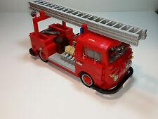 LEGO CUSTOM VW VOLKSWAGEN BULLI T1 - FIREFIGHTER WITH LADDER - CREATOR -