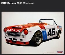 BRE Datsun 2000 #46 Roadster Car Poster!!