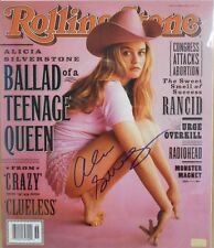 ALICIA SILVERSTONE * ACTRESS *  HAND SIGNED 11 X 14 ' CELEBRITY AUTH HOLOGRAM