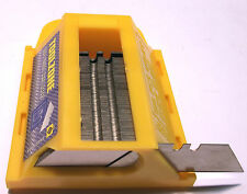 NEW 100pc Utility Knife Blades In Holder KN053