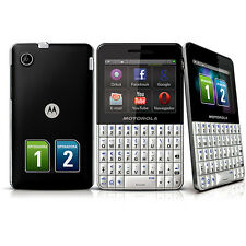 Motorola Touch screen &  Qwerty Keypad Dual Sim Sealed box Phone